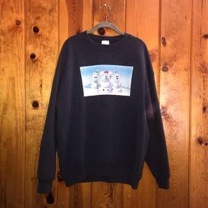 Disney Snowman Sweatshirt